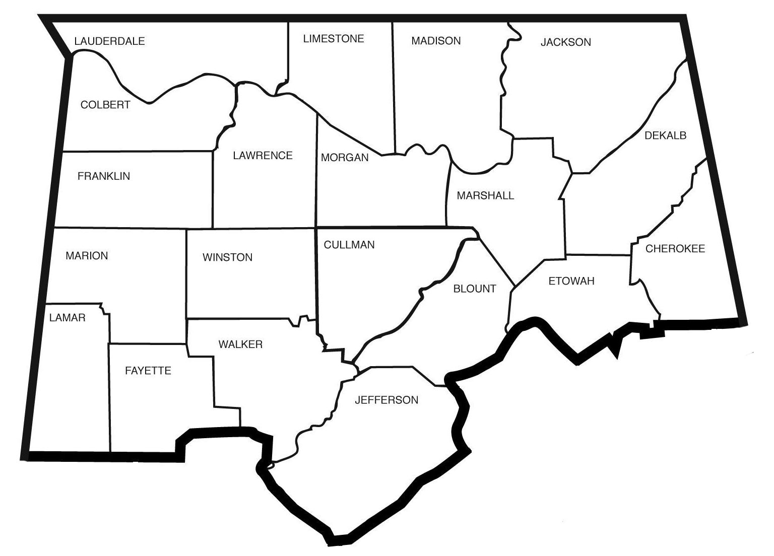 Agriscience District Map-North